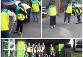아이들이 행복한 마을 만들기, 9월 마을청소 진행사진